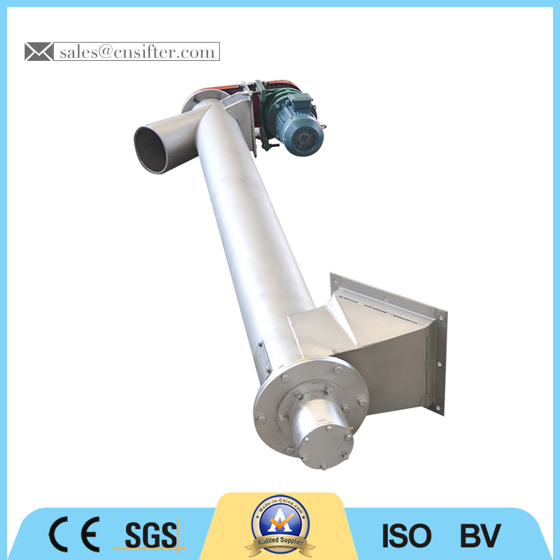 Inclined Cement Screw Conveyor