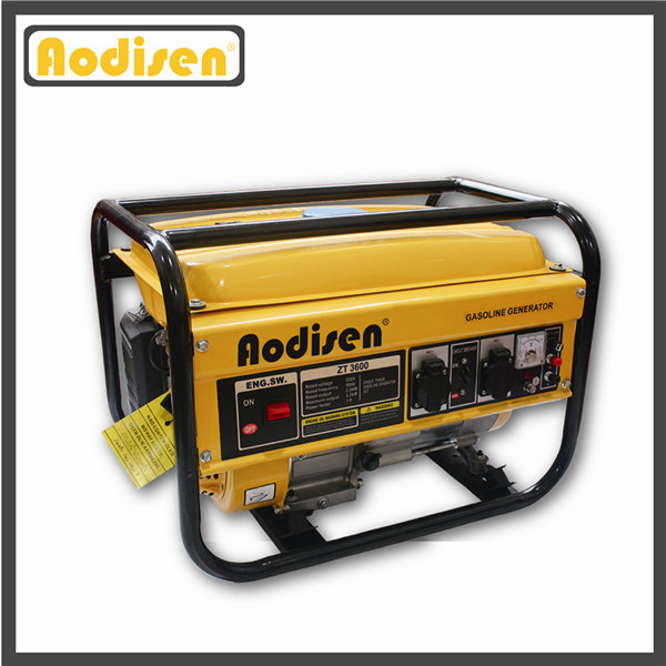 AVR Gasoline Generator Set/Petrol Generator/Portable Electric Power Generator