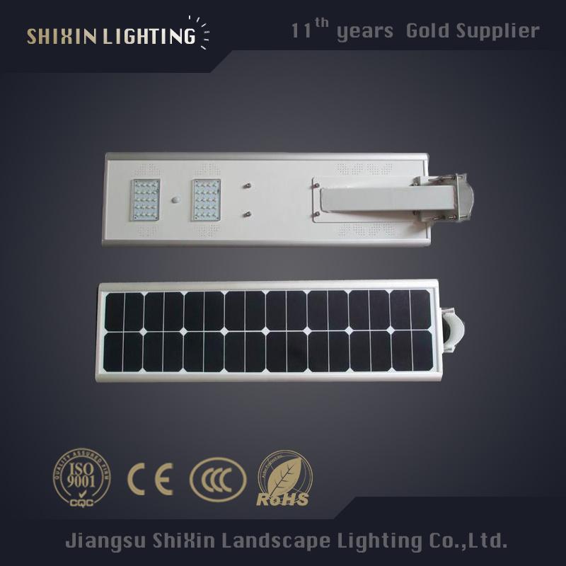 Factory Price 10W 20W 30W LED Solar Street Light All in One (SX-YTHLD-02)