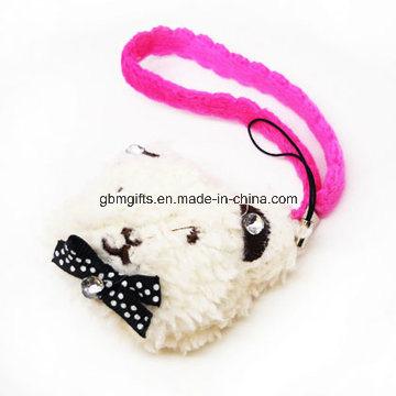 Mini Cheap Plush Animal Keychain Customized Cute Stuffed Soft Rabbit Plush Keychain