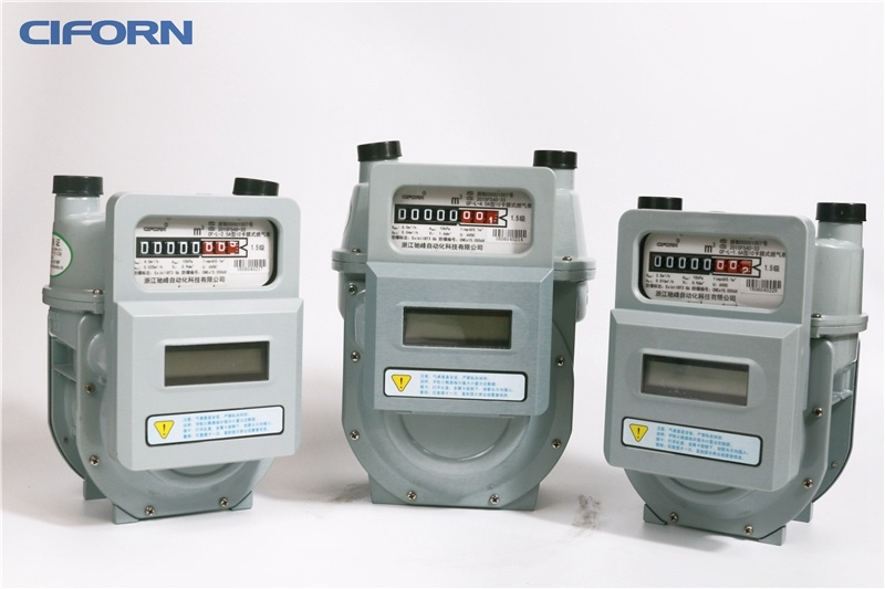 G1.6 Aluminum Case IC Card Diaphragm Gas Meter