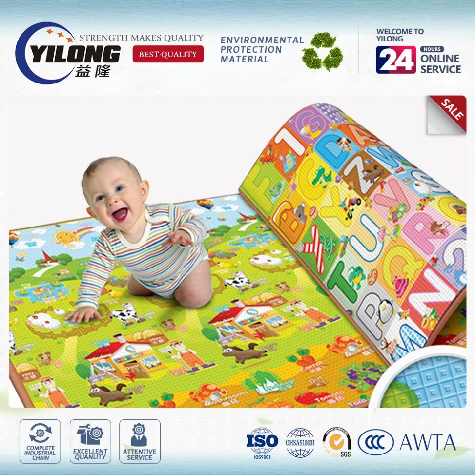2017 Baby Play Mat with Logo Printed