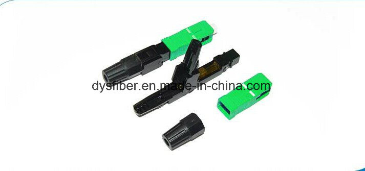 Sc/APC Fast Connector for FTTH Drop Cable