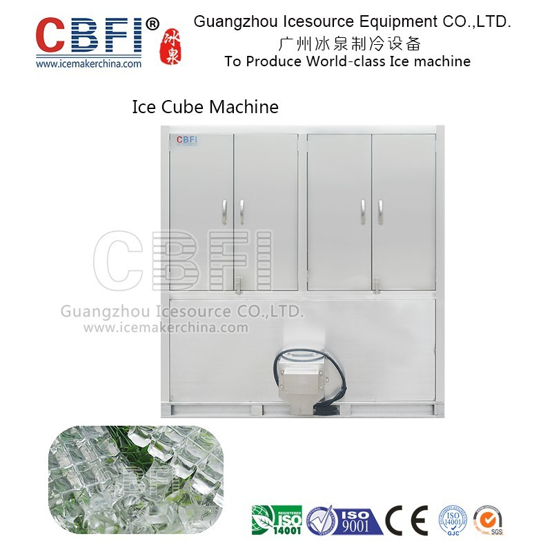 New Style Using Touch Screen Commercial Cube Ice Machine