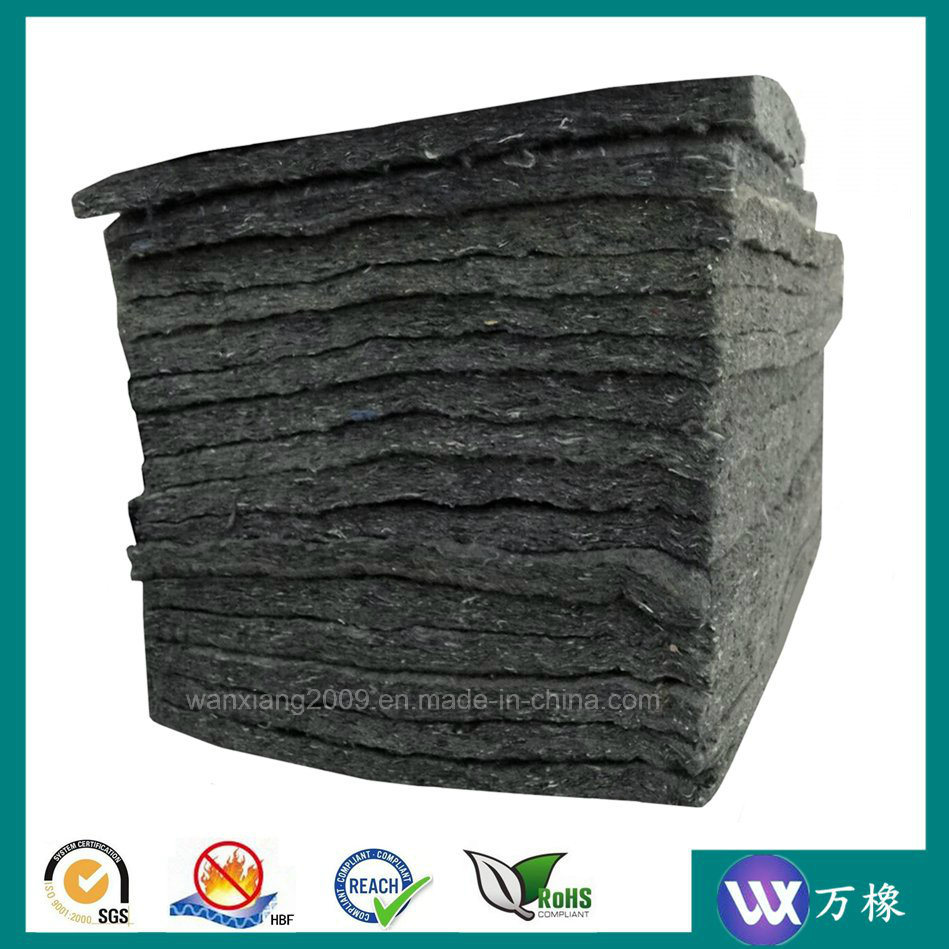 Nonwoven Hard Acoustical Sound Insulation Polyester Felt Underlay