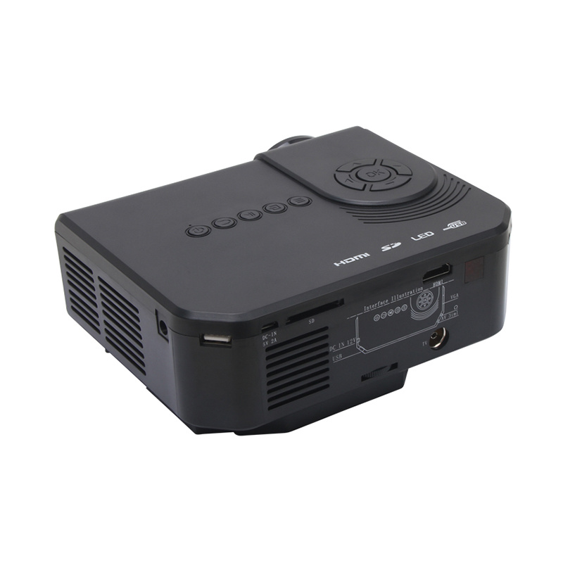 Original Factory Q3 Mini Projector with TV Tuner Mini Projector WiFi Android Syestem Smart Projector