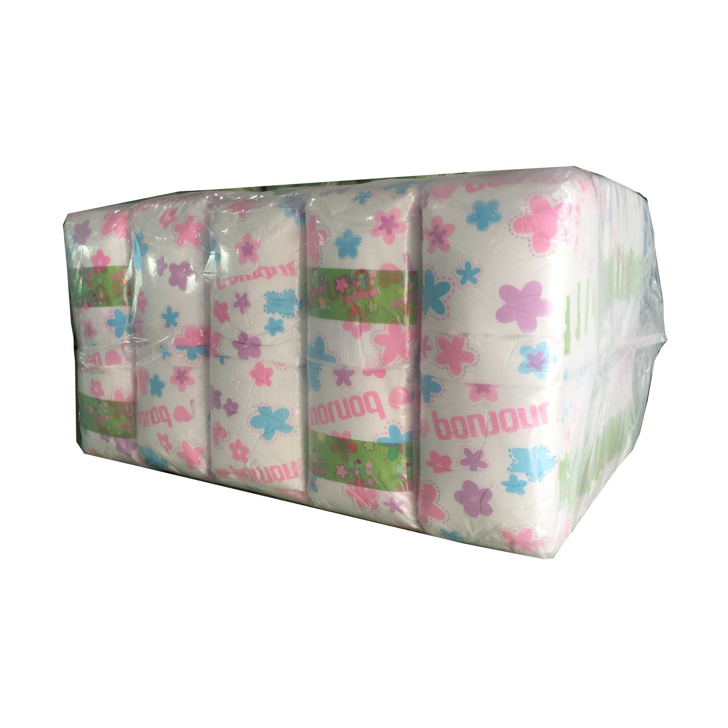 OEM PE Type Client′s Backsheet Baby Diaper with Nonwoven