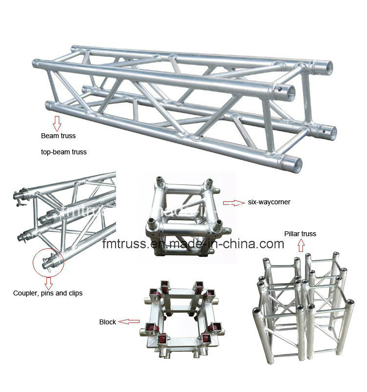 China Aluminum Truss, Aluminum Lighting Truss, DJ Truss for Stage System