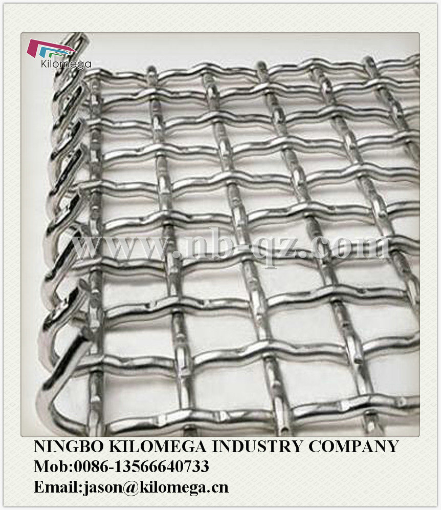 Good Quality Wire Screen+Hook / Mining Screen Mesh /Crimped Wire Mesh