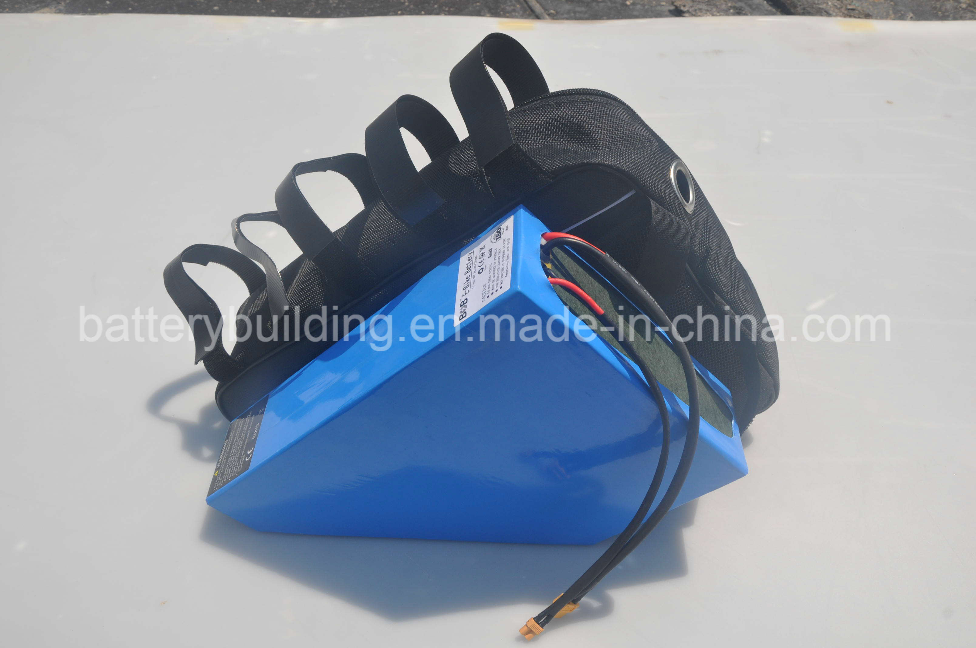 New Arrival Triangle 48V 20ah Lithium Battery Pack for Electric Bike with 13s8p