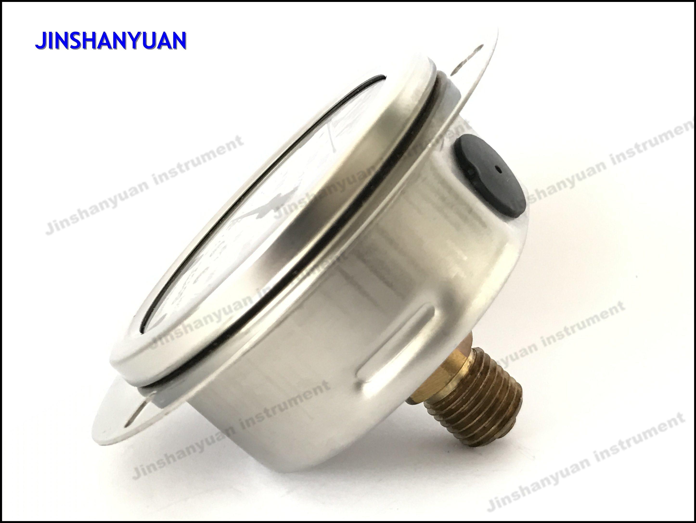 Og-016 Wika Type Pressure Gauge/Pressure Gauge with Front Clamp/Back Type Manometer