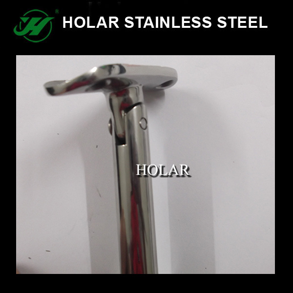 Inox Pipe Carrier, Pipe Support for Stair Railing