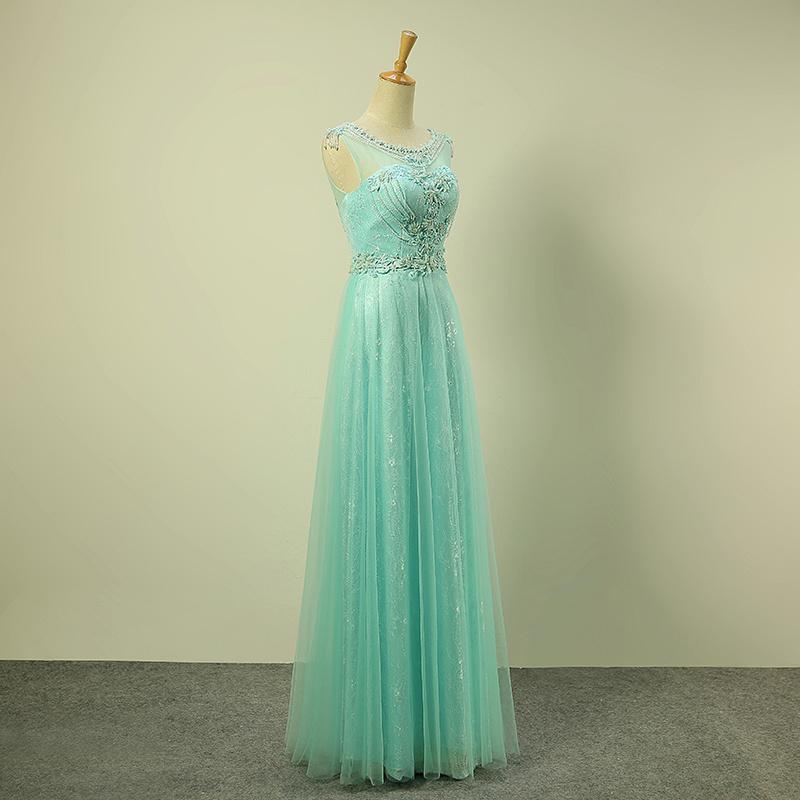 Ladies Elegant Dress, Luxury Evening Dress, Clothing, ED014