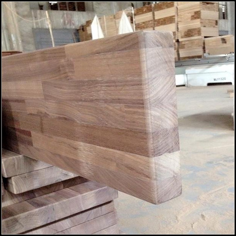 E0 Standard American Walnut Wood Worktops