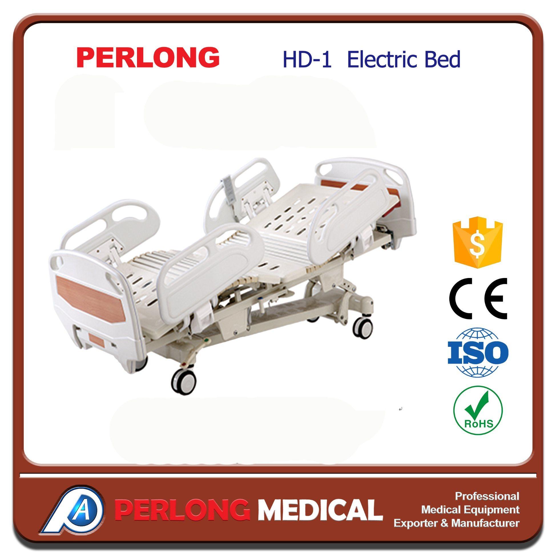 HD-1 Nanjing Perlong Hospital Bed/Hospital Bed Price
