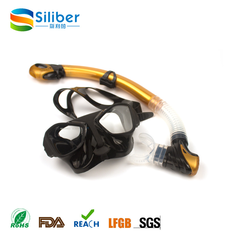 Health Material Dive Mask and Snorkel Manufacturing and New Style Diving Mask Freediving Goggles