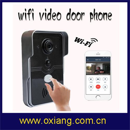 Wireless Video Doorbell Multi Apartments WiFi Video Door Phone