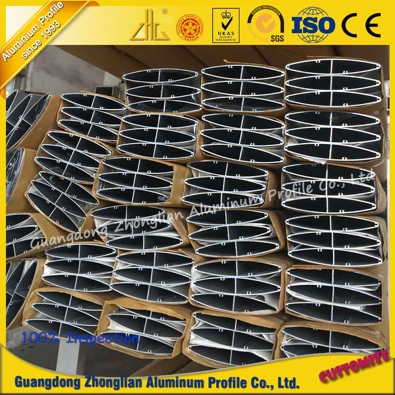 Aluminium Window and Door Profiles for Louver Shutter Making