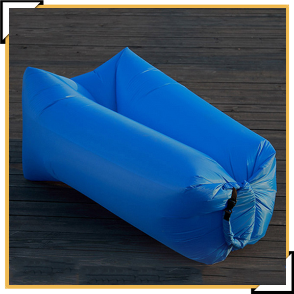 Inflatable Couch Air Sleeping Sofa Lounger Bag Portable Camping Bed