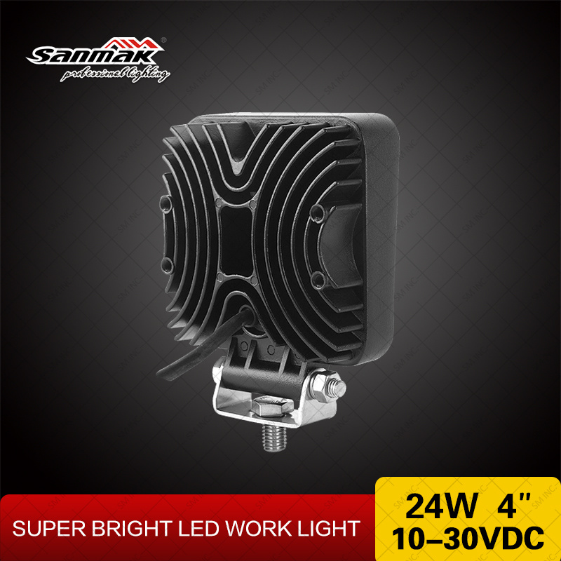 """4"""" 24W Crree Offroad High Output LED Work Light"""