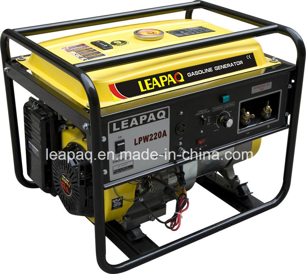 5.0kw Electric Start Portable Gasoline Generator Welding