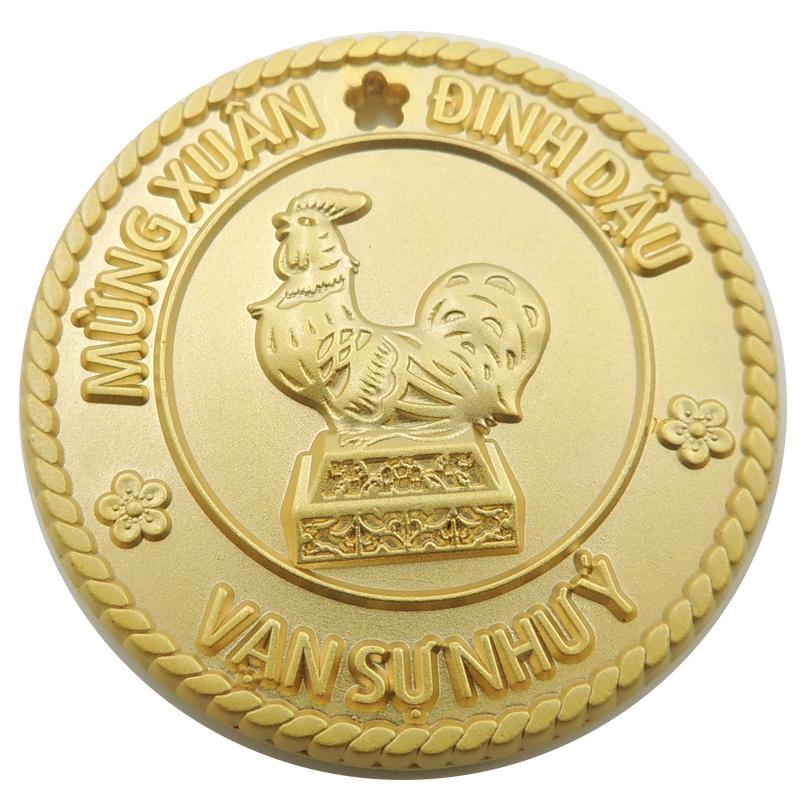 Custom Casting Silver Coins for Souvenir (xd-36)