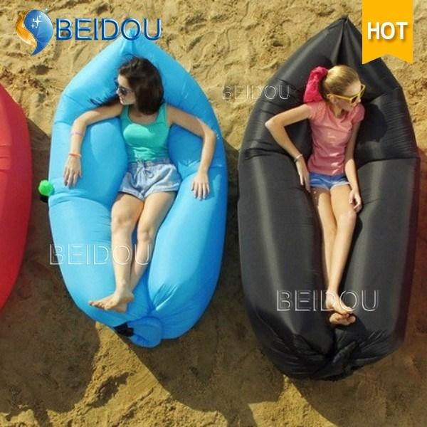 Portable Inflatable Lounger Sleep Bag Air Sofa Bed for Sale