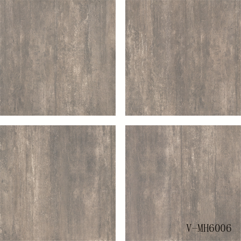 Porcelain Non-Slip Semi-Polished Marble Look Commercial Flooring Tile (600X600mm)