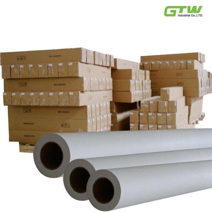 45GSM, 50GSM, 57GSM, 70GSM, 75GSM Low Weight Sublimation Paper for Sportswear Roll Size