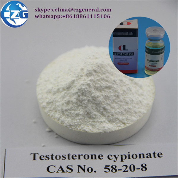 Test Cypionate 99% Anabolic Steroids Oil & Powder Testosterone Cypionate 250mg