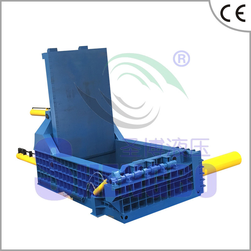 Hydraulic Automatic Steel Copper Aluminum Scrap Metal Baler (factory)