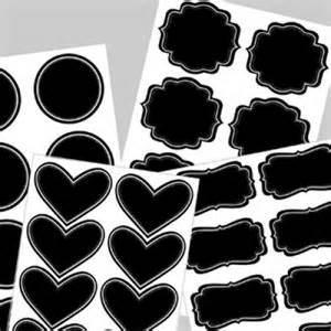 Blackboard Wall Sticker PVC Die Cut Chalkboard Sticker for Decoration