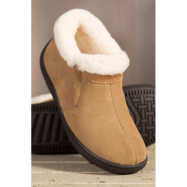 Women′s Sheepskin Slipper Shoes Winter Sheepskin Shoe