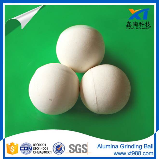90%, 92%, 95% Al2O3 High Alumina Grinding Ball