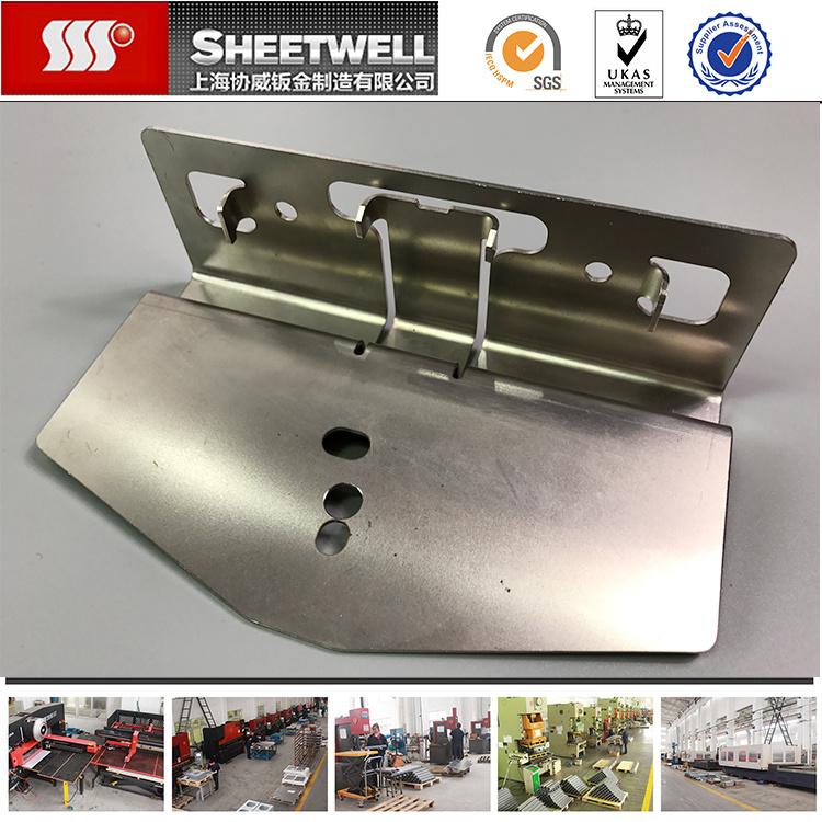 China Custom Design Aluminum Sheet Metal Parts Processing
