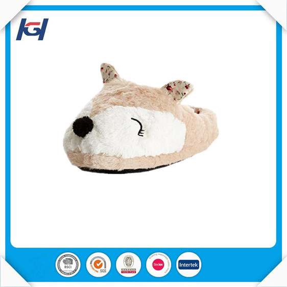Novelty Plush Gorilla Animal Shaped Slippers for Adults
