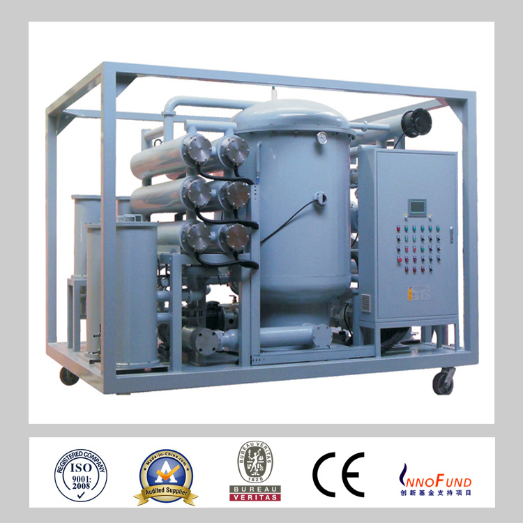 ZJA-50 Two-Stage High Efficiency Vacuum Transformer Oil Treatment Machine