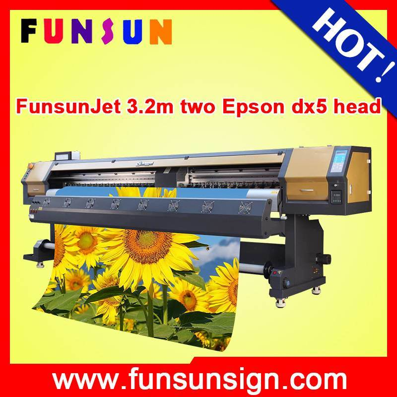 Canvas Printing Machine with Konica 512I Printhead Printer