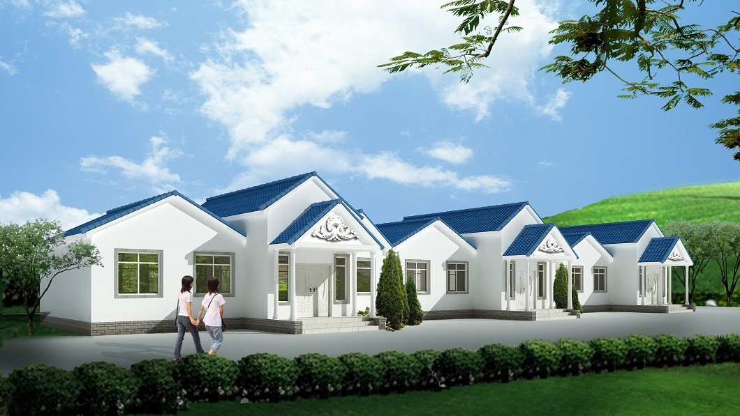 High Economic Benefit Light Steel Prefab Villa House