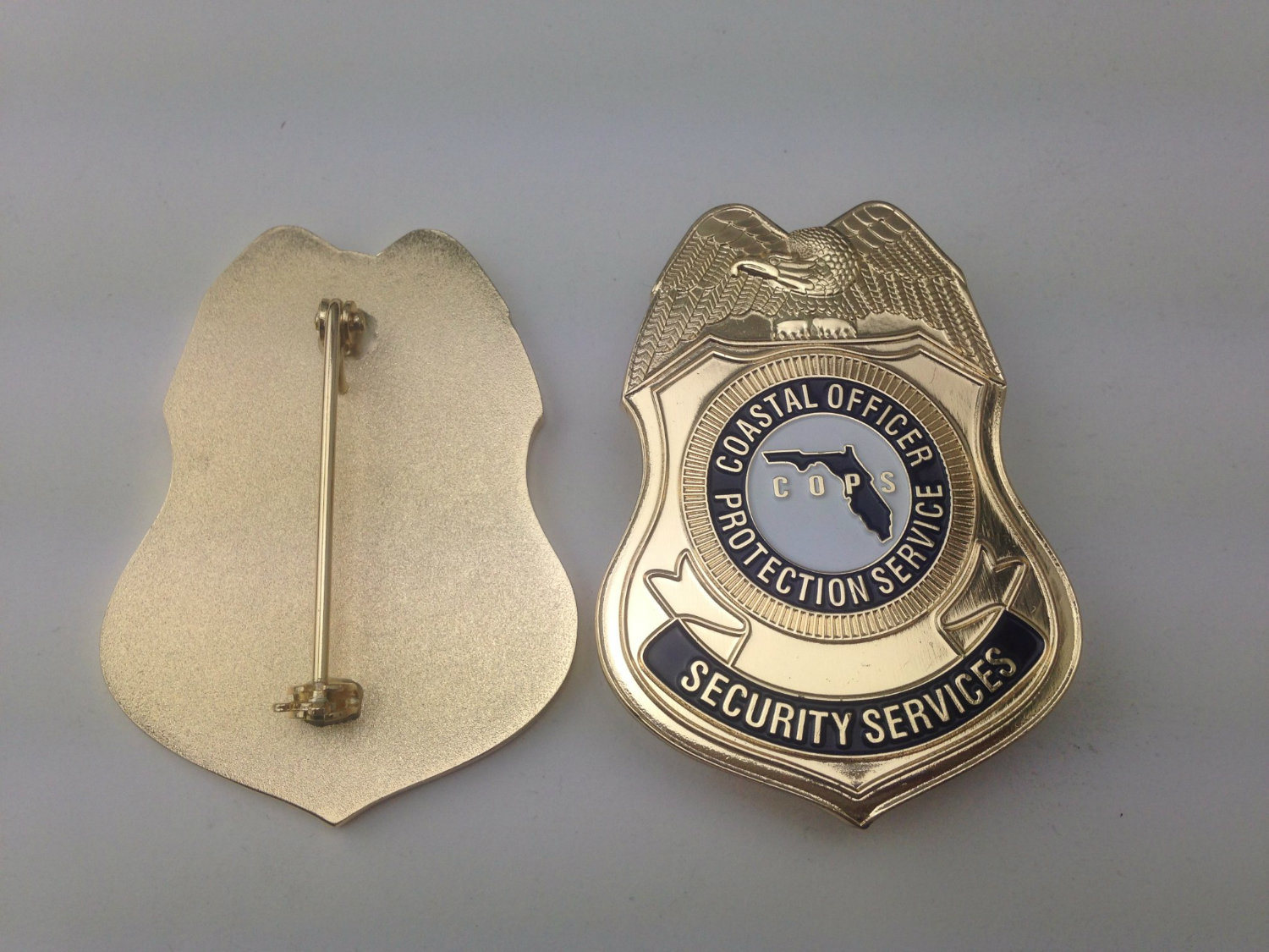 Supply Cheap Custom Pin, Metal Police Badge (GZHY-BADGE-003)