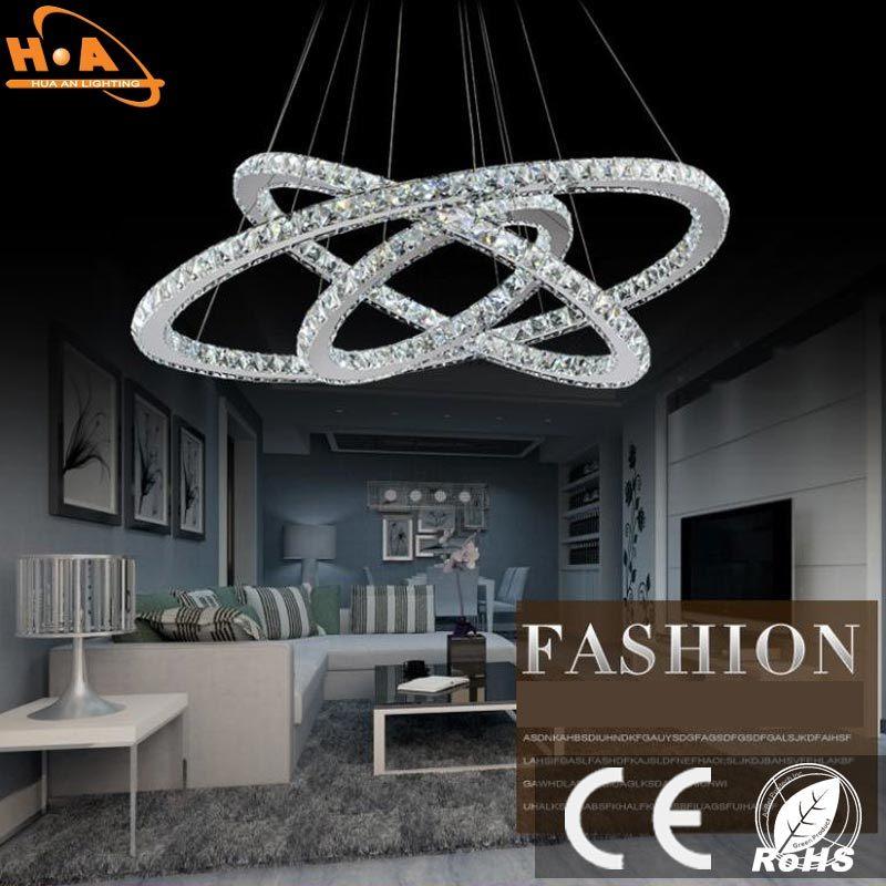 Modernthree Round Rings LED Lights Pendant Lamp