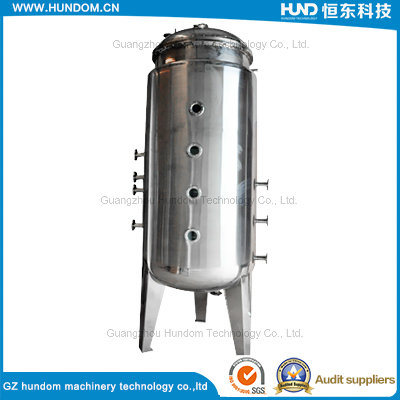 Movable 100 Gallon Stainless Steel Tank for Water