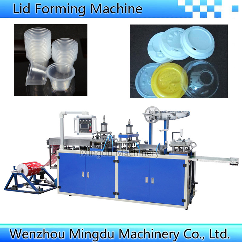 Plastic Lid Making Machine (Model-500)