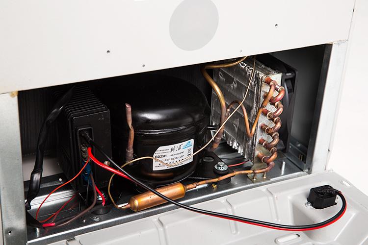 Purswave 50L 12V24V DC Compressor Solar Fridge Vehicle Refrigerator Air-Conditioner