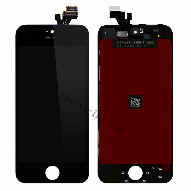 Mobile Phone LCD Digitizer Spare Parts for iPhone 5 LCD