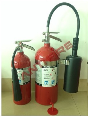 UL Standard CO2 Fire Extinguisher