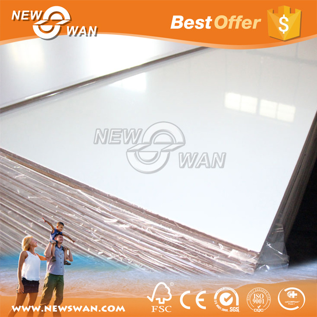 18mm Waterproof High Gloss Acrylic MDF Board for Kitchen Decorative