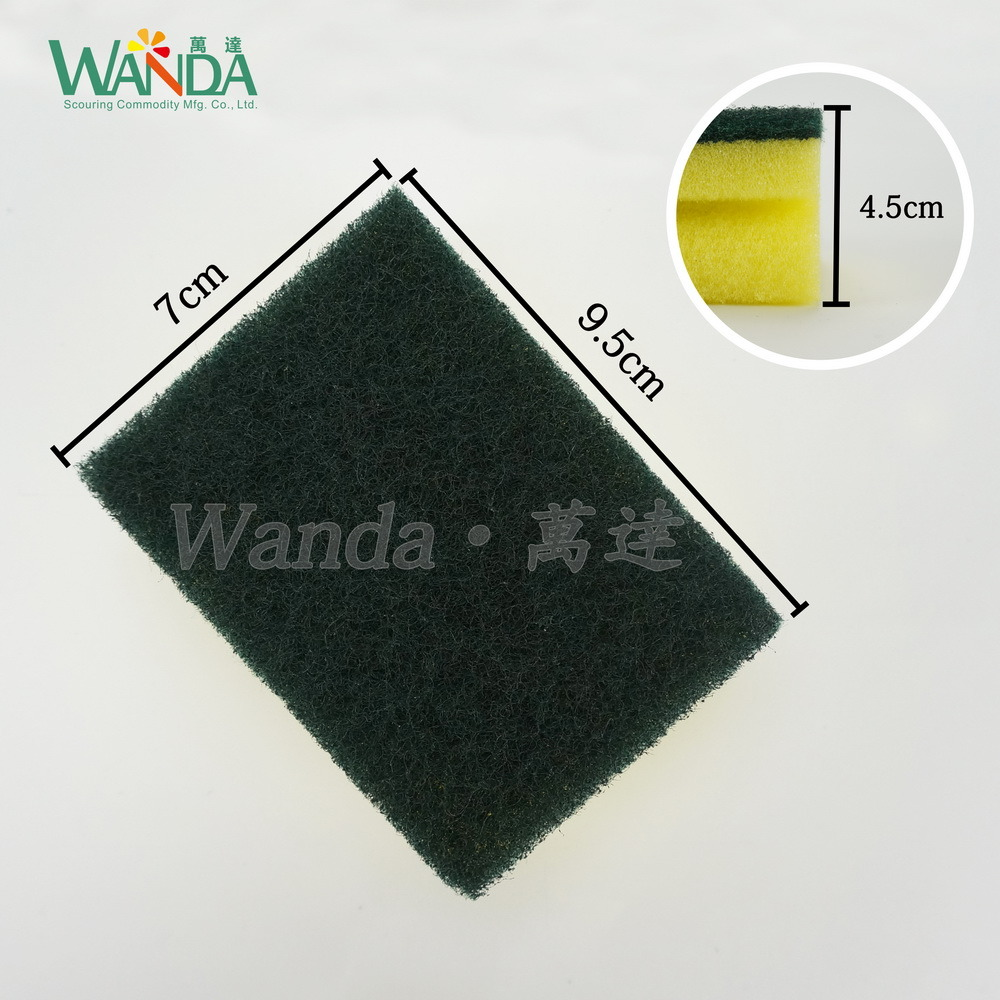 Grip Cleaning Sponge Scrubber Form Sponge for Kitchen Cleaning