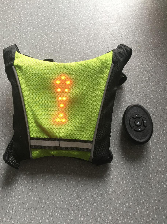 Wireless Radio Control Smart Bicycle Turning Light Signal Light
