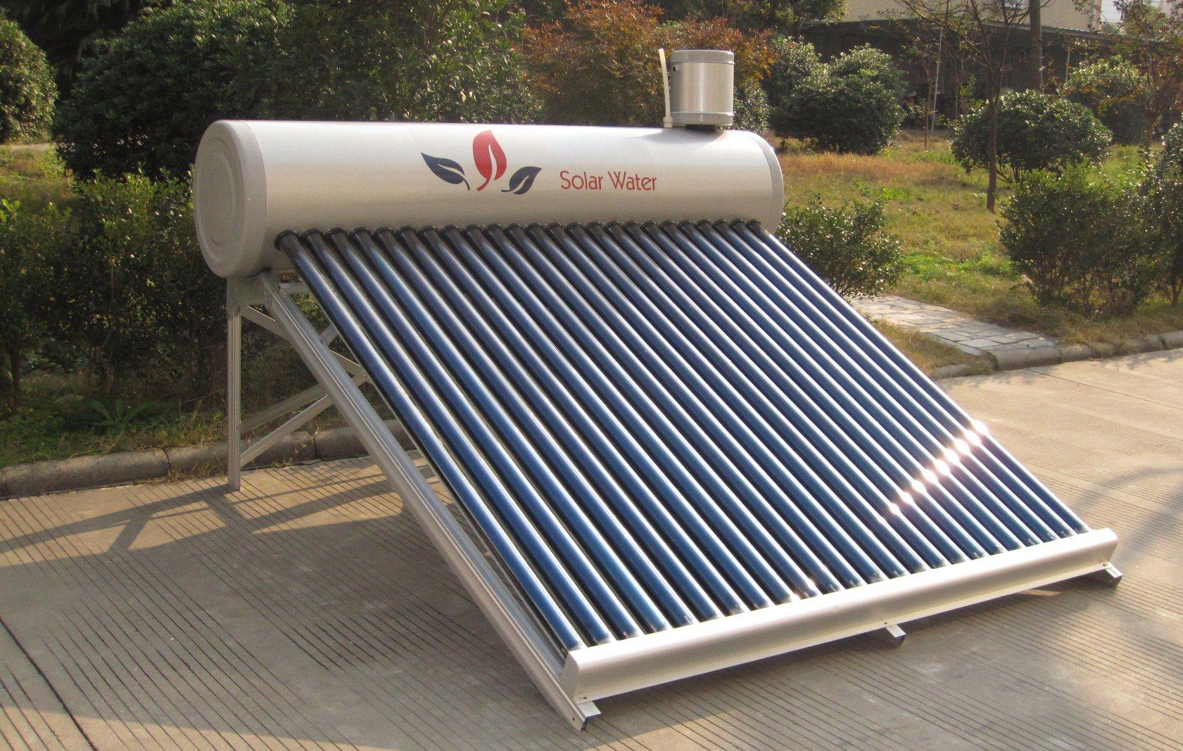 Non-Pressurized Solar Water Heater (120L) & Solar Water Heating
